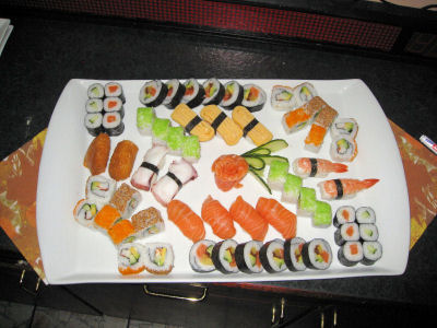 Sushi-Auswahl